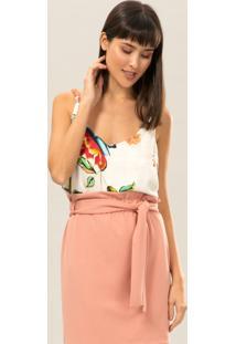 Blusa Com Alças Corrente Colores - Lez A Lez