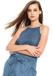 Regata Jeans Cativa Comfort Azul