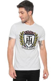 Camiseta Tommy Hilfiger Crest Fashion Branca