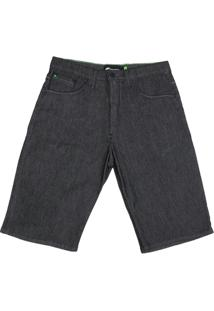 Bermuda Jeans Hd Stretch Plus Size - Masculino