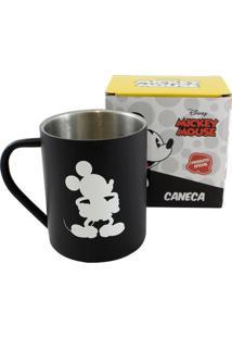 Caneca De Aço Mickey Mouse - Zona Criativa