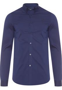 Camisa Masculina Stripe - Azul
