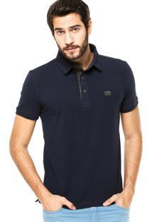 Camisa Polo Sergio K Detalhe Azul
