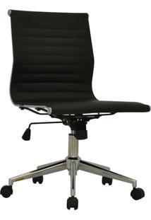 Cadeira Office Sevilha Baixa Sem Braço Preto Rivatti Móveis