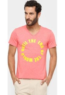 Camiseta Sergio K. Until The End Of The World - Masculino