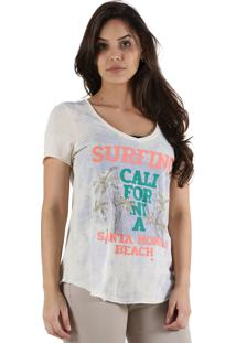 T-Shirt It'S & Co St Monica Off-White