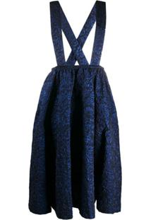 Comme Des Garçons Vestido Salopete - Azul