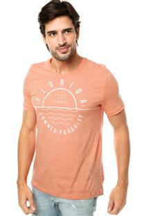 Camiseta Kohmar Florida Laranja