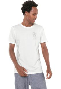 Camiseta Redley Floating Mood Off-White