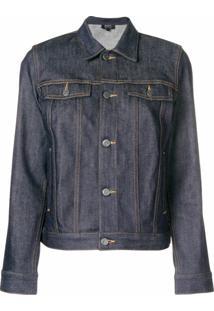 A.P.C. Jaqueta Jeans - Azul