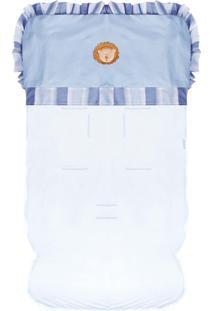 Capa De Carrinho Padroeira Baby Zoo Baby Azul