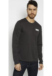 "Camiseta ""San Francisco Cal""- Preta & Brancalevis"