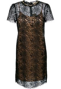 e0850ab990267 Vestido Michael Kors Renda feminino