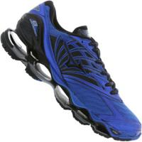 96cfb0c659 Tênis Mizuno Wave Prophecy 8 - Masculino - Azul Preto