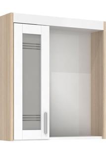 Espelheira Em Mdf Com Luminária Imola 67,5X60Cm Ibizza