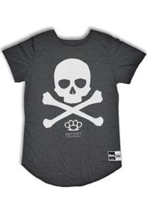 Camiseta Oversize Skull X - Masculino