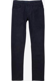 Calça Dudalina Jeans Masculina (Azul Marinho, 46)
