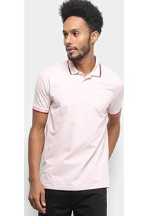 Camisa Polo Ellus Frisos Classic Masculina - Masculino-Rosa Claro