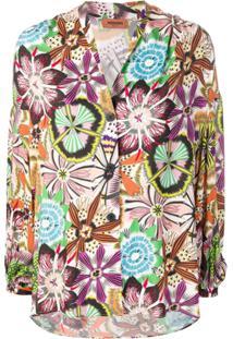 Missoni Floral Print Blouse - Preto