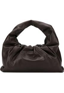 Bottega Veneta Bolsa Tiracolo The Shoulder Pouch - Marrom