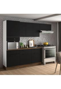 Cozinha Compacta Exclusive 8 Pt 3 Gv Preta