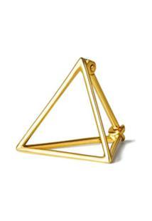 Shihara Par De Brincos 'Triangle 15' - Metálico