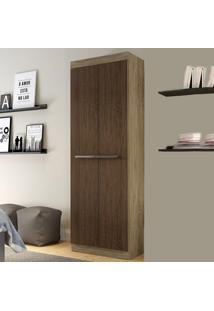 Armário Multiuso 2 Portas Rp8020 Wood/Cedro - Decibal Móveis