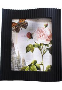 Porta Retrato Minas De Presentes 1 Foto 20X25Cm Preto