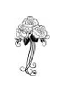 Adesivo De Parede - Bouquet De Rosas - 020Fl-G