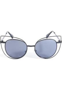 Óculos De Sol Triton Eyewear Feminino - Feminino-Preto