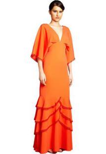 2d95ed9feb Vestido Coral Crepe feminino