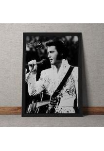 Quadro Decorativo Elvis 35X25