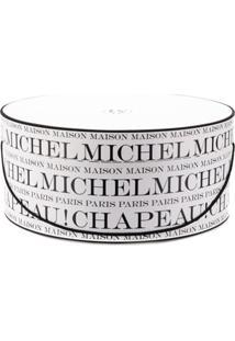 Maison Michel Porta Papel Com Logo - Branco