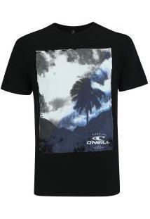 Camiseta O'Neill Valley- Masculina - Preto