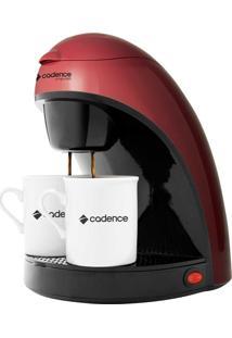 Cafeteira Elétrica Cadence Single Colors Vermelha - 220V
