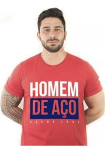 Camiseta Zé Carretilha Bah Tricolor Homemdeaço Masculina - Masculino