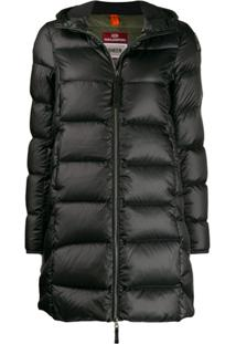 Parajumpers Hooded Padded Jacket - Preto