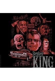 Camiseta Stephen King - Masculina