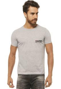 Camiseta Joss - Medita Beach - Masculina - Masculino-Mescla