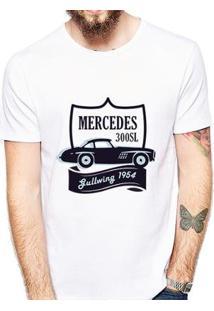 Camiseta Coolest Mercedes Masculina - Masculino-Branco