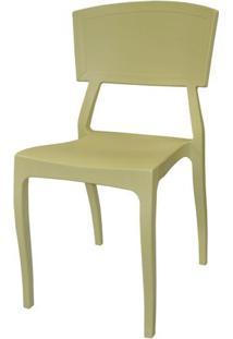 Cadeira Hitz Polipropileno Sem Braco Cor Fendi - 23004 - Sun House