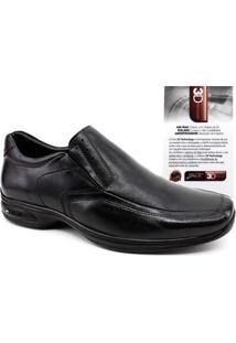 Sapato Jotape 3D Vision Tamanhos Grandes Masculino - Masculino-Preto