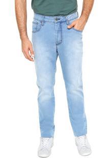 Calça Jeans Sommer Reta Azul