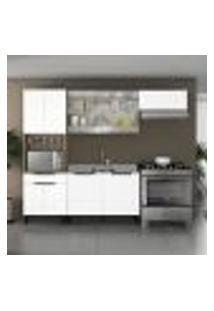 Cozinha Compacta Itamaxi 9 Pt 1 Gv Branca E Castanho