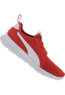 Tênis Puma Flex Fresh - Masculino - Vermelho/Branco