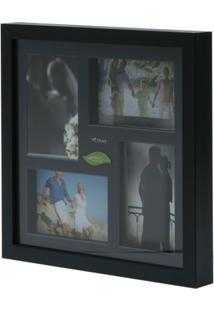 Painel Collection Para 4 Fotos 10X15 31,5X31,5X4Cm - Unissex