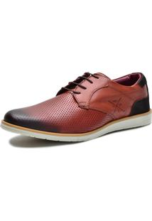 Sapato Social Masculino Sapatênis Marrom
