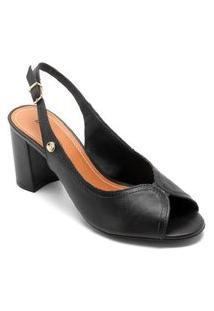 Sandália Chanel Bottero Toscana Preto 294004-5