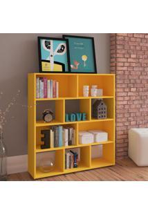 Estante Para Livros Book Amarelo - Artely