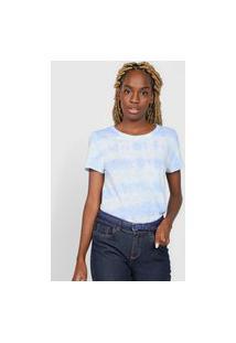 Camiseta Gap Tie Dye Azul/Verde